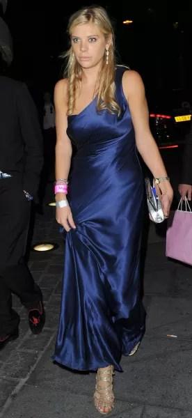 Chelsy Davy, Blue Dress