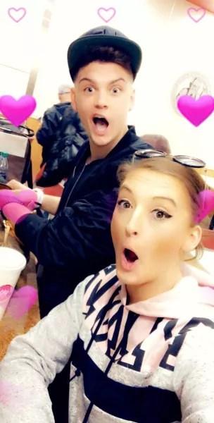 Tyler Baltierra and Amber Baltierra