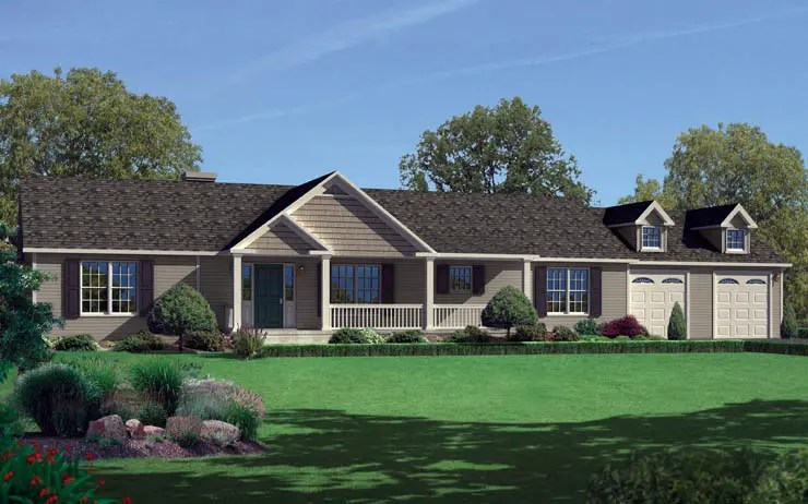 Norwood 1-Story Modular Home Floor Plan
