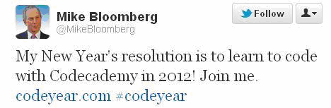 tuit del alcalde programador