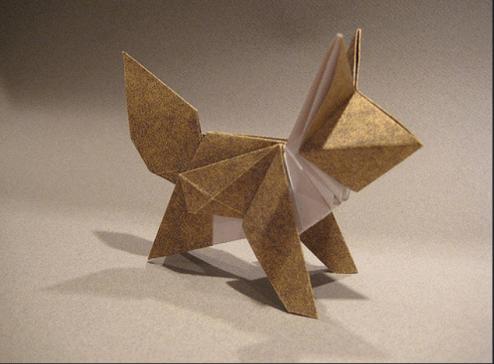 Origami fox - Josephwuorigami