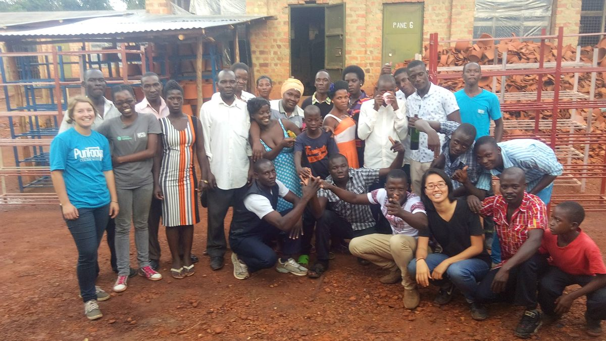 SPOUTS uganda clean water