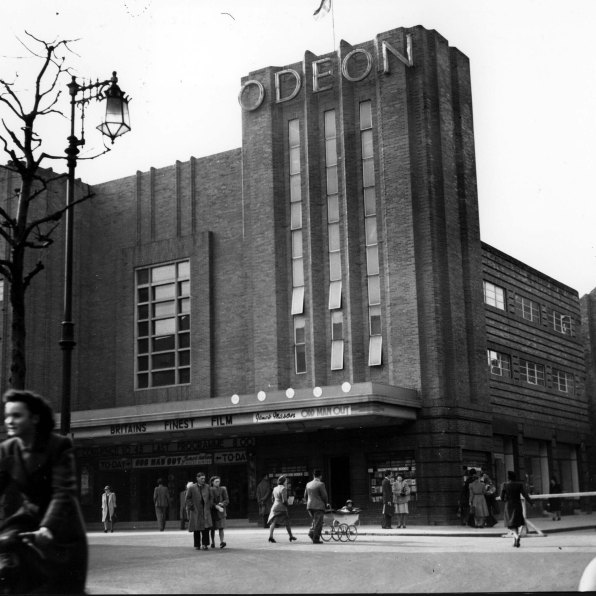 The 1936 Odeon has now been restored and turned into Storyhouse.