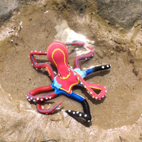 Octopus - Bahari suit. © Ocean Sole