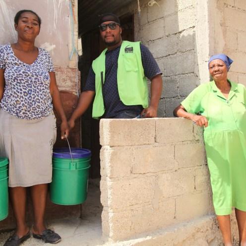 EkoLakay collection day in Cap Haitien, Vic Hinterlang