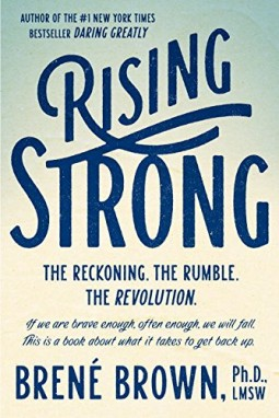 Rising strong Brene Brown INKLINE