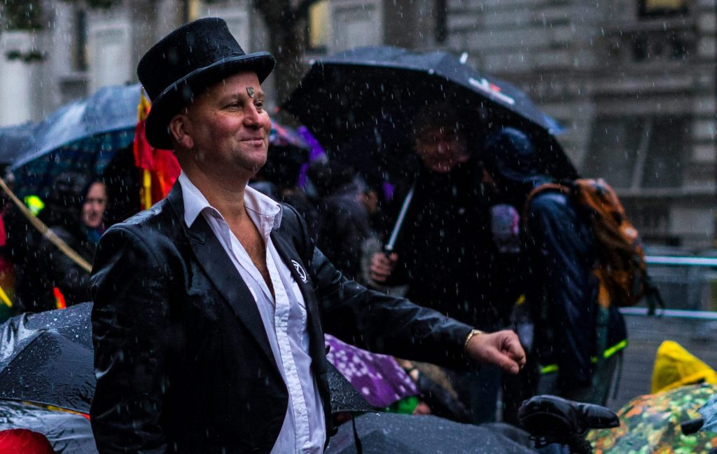 Photo story: Climate rebels take over London