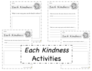 Each Kindness activities preview