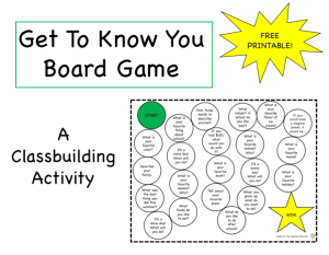 Get To Know You Board Game preview