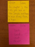 Exit Slip Post-Its