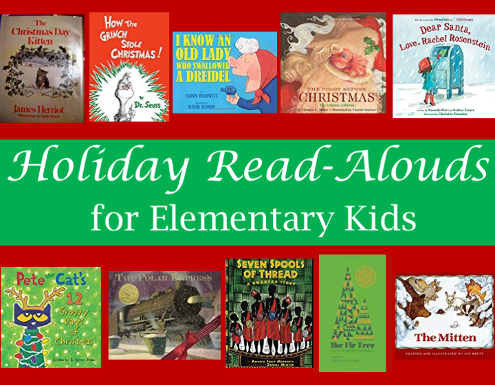 Holiday Read-Alouds for Elementary Kids