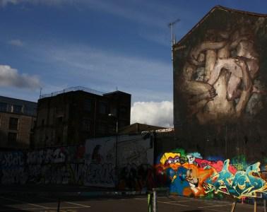 Gentrification in Brick Lane, Shoreditch, East London