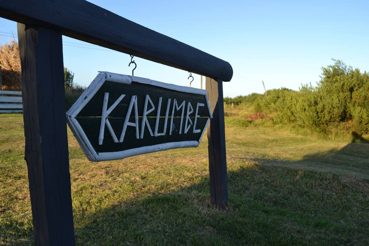 The entrance to NGO Karumé