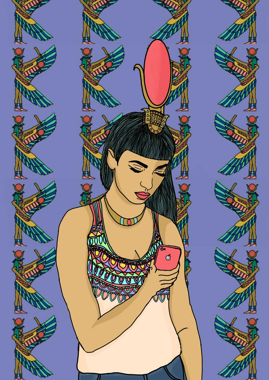 Goddess Isis, by Priyanka Paul