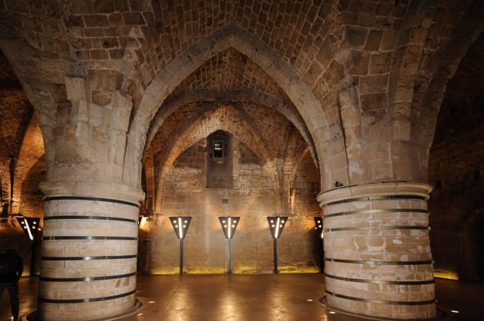 Knights Hall, Hospitaller fortress
