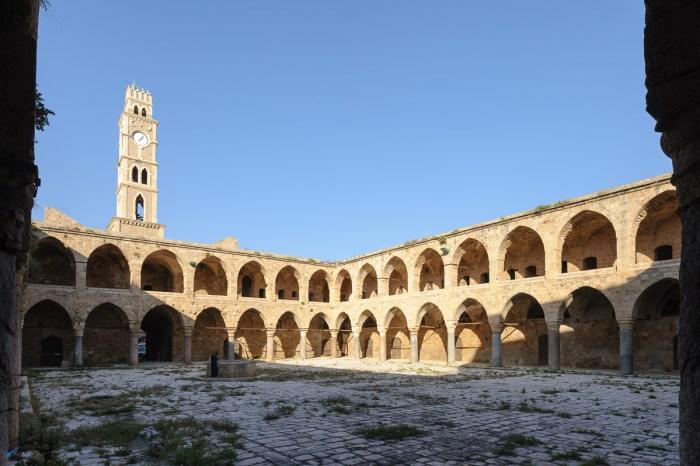Khan al-Umdan Karawanserei in Akko, osmanische Periode