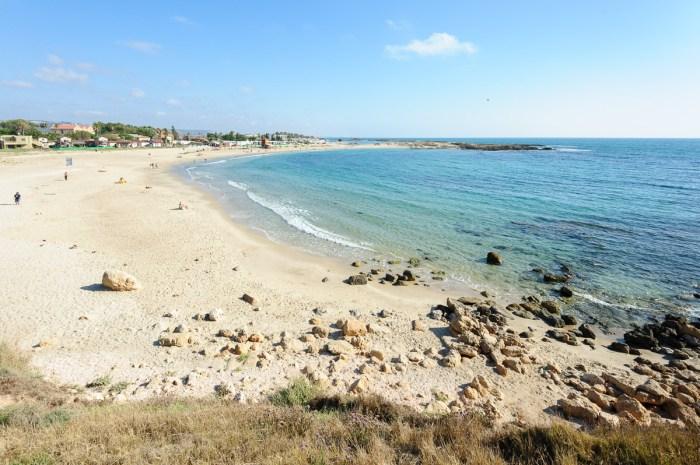 Nahsholim beach