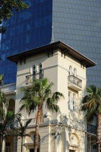Levine house (Russian Embassy Bldg.), architect Yehuda Magidovitch