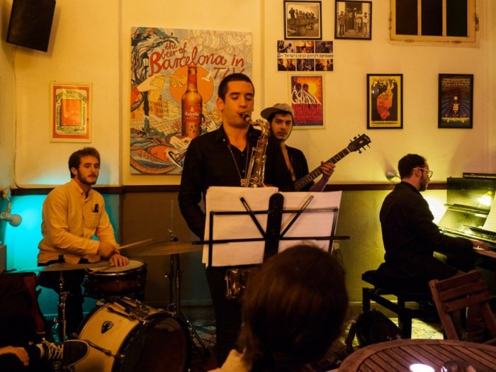 Life Jazz at the Beit Haamudim