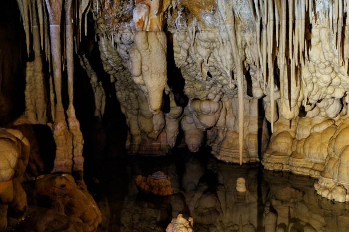 Stalactite cave
