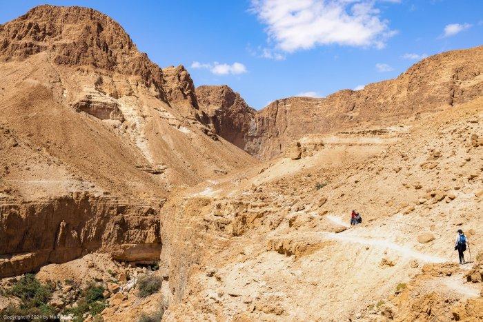 Tsafit trail near Ein Gedi, Dead Sea