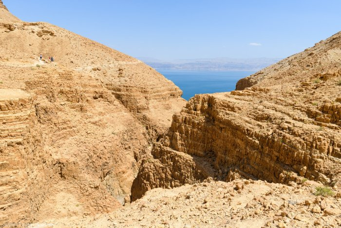 Dry Canyon and Dead Sea