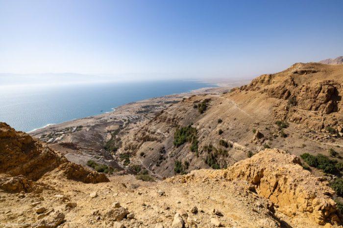 Nahal David und Totes Meer