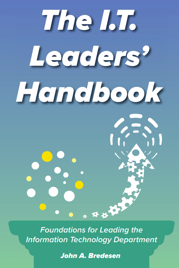 IT Leaders Handbook front cover