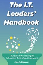 IT Leaders Handbook front cover