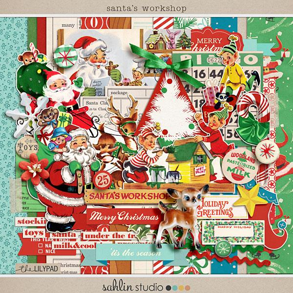 Santas Workshop By Sahlin Studio
