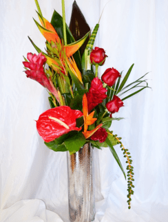 Gingerlily & Bird of Paradise Bouquet