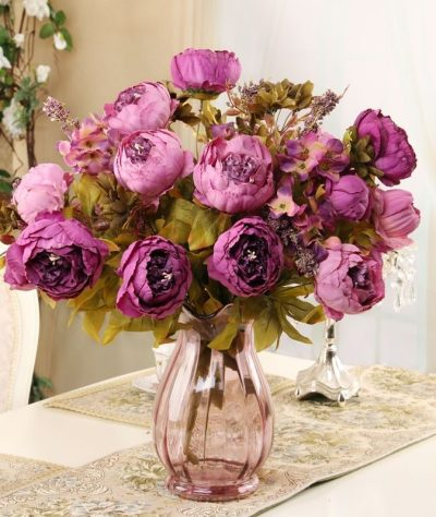 Artificial Flowers & Vases