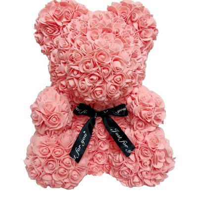 Artificial-Flowers-Rose-Bear-Girlfriend-Anniversary-Christmas-Valentine-s-Day-Gift-Birthday-Present-For-Wedding-Party-LIGHT-PINK-LARGE