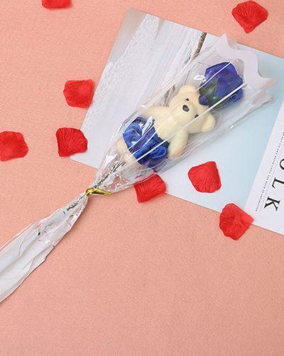 Soap-Rose-flower-teddy-foam-the-little-flower-shop-florist-londonRose-Flower-For-Romantic-Valentines-Day-Creative-Gifts-Mother-s-Day-Artificial-Flower-Bear-Rose-3