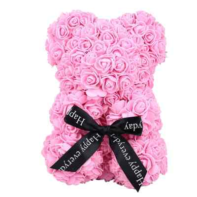 ROSE BEAR SMALL PINK-min