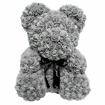 GREY-GREY-BEAR-large-teddy-bear-rose-flower-multi-colour-the-little-flower-shop-small