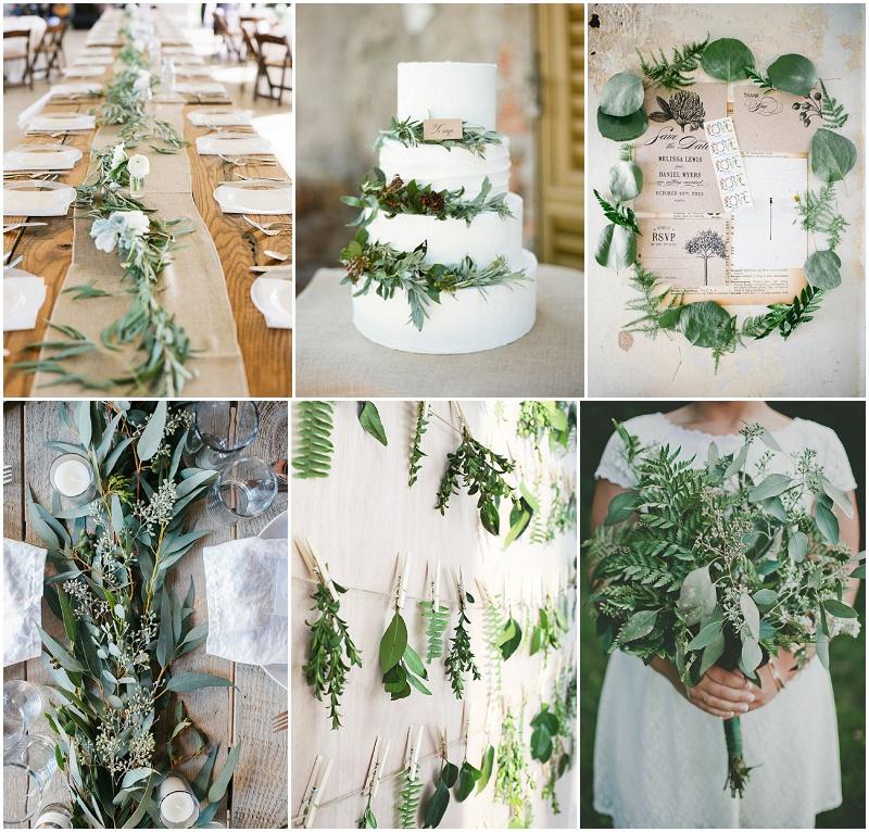 Hochzeit Tischdeko Mit Eukalyptus Gunstig Selber Machen