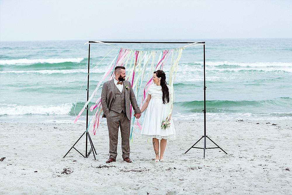 Heiraten Zu Zweit In Ahrenshoop