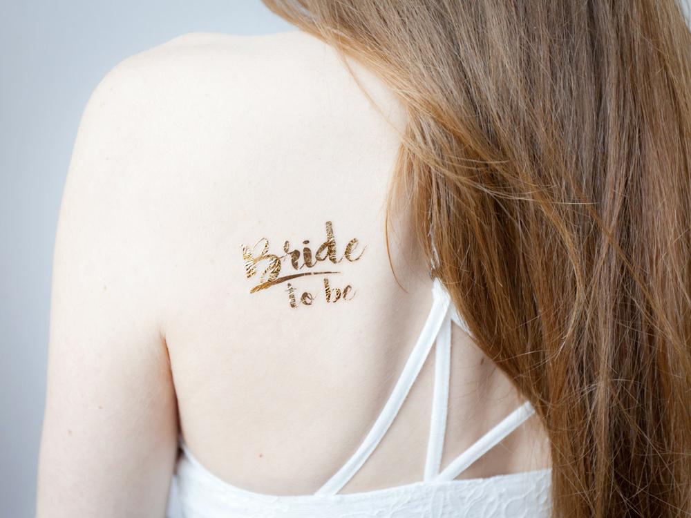 team bride schicke tattoos und schmuck