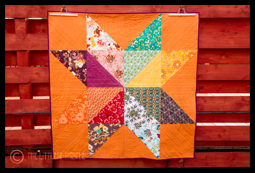 Bloggers' Quilt Festival – Giant Indie Star
