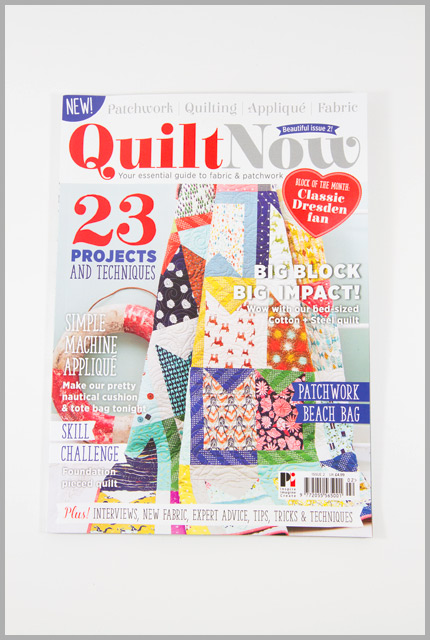 Quilt Now Issue 2: The Nautical But Nice Bag