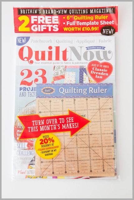 Quilt Now Giveaway Winner