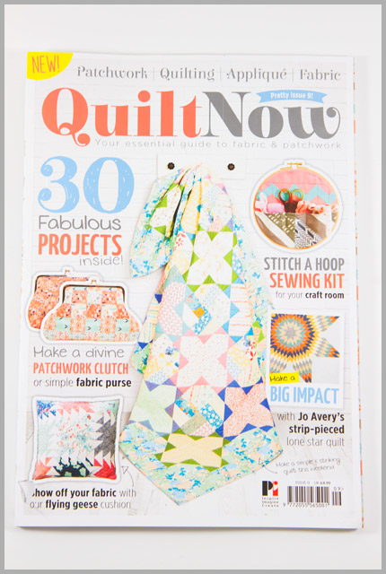 Quilt Now Issue 9 – Charming Layers Wallet