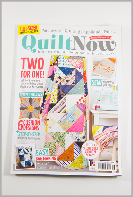 Quilt Now Issue 16 – Think Pink!