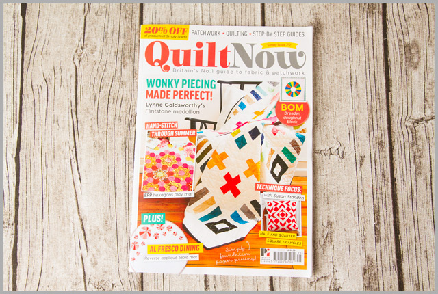 Quilt Now Issue 25