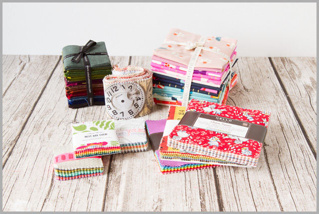 Quilting Fabrics Pre-cuts Glossary – Quilt Making Basics