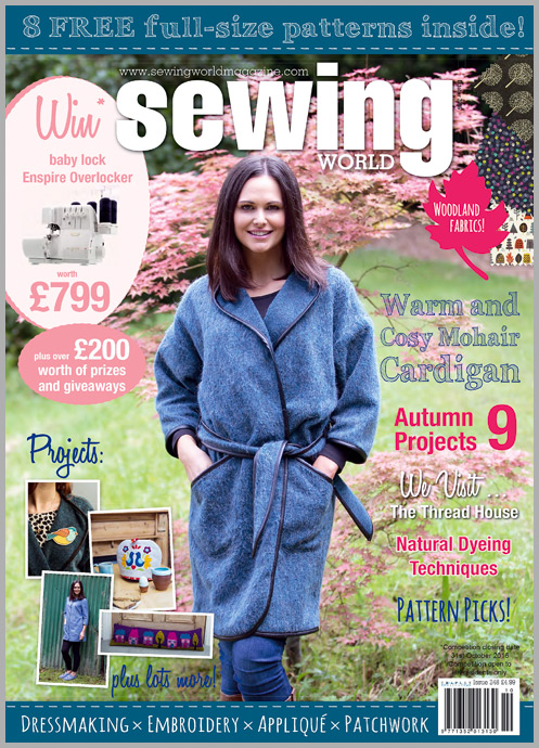 Sewing World Magazine Feature | The Littlest Thistle