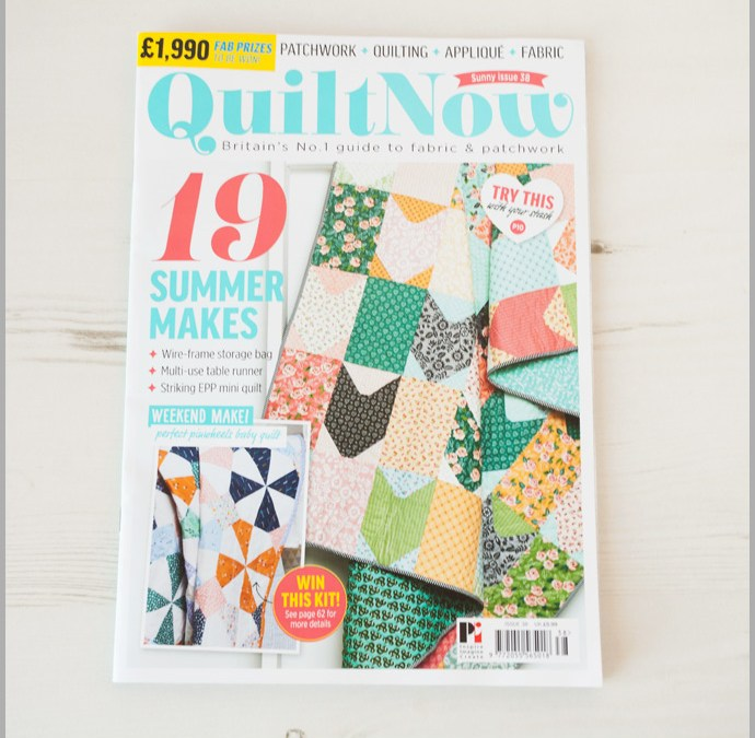 Quilt Now Issue 38