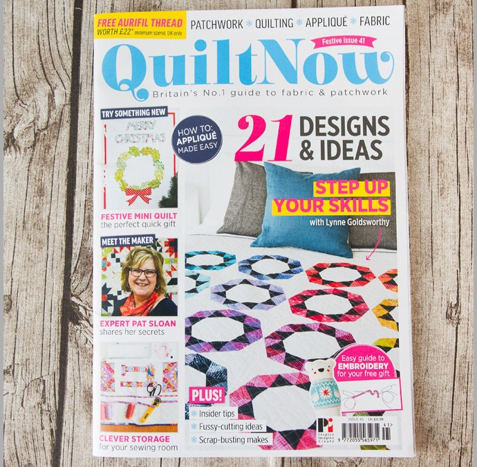 Quilt Now Issue 41 – Interlocking Basket