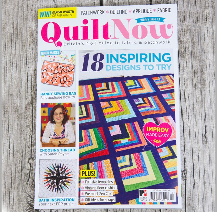 Quilt Now Issue 43 – Baby Toys
